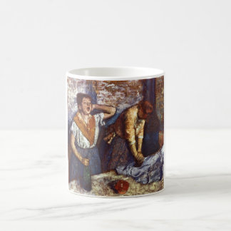 Edgar Degas - Two Women Ironing 1884 oil canvas Coffee Mug