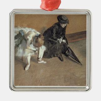 Edgar Degas | Waiting, c.1882 Christmas Ornament