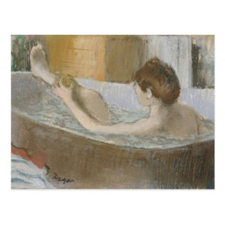 Edgar Degas | Woman in her Bath, Sponging her Leg Postcard
