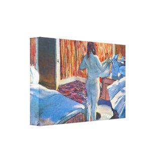 Edgar Degas - Women at the toilet Gallery Wrap Canvas