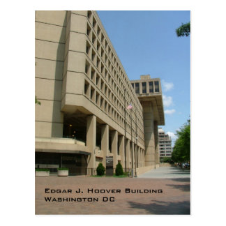 Edgar J. Hoover Building Postcard