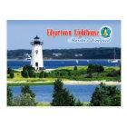 Edgartown Harbour Light, Martha's Vineyard, MA Postcard