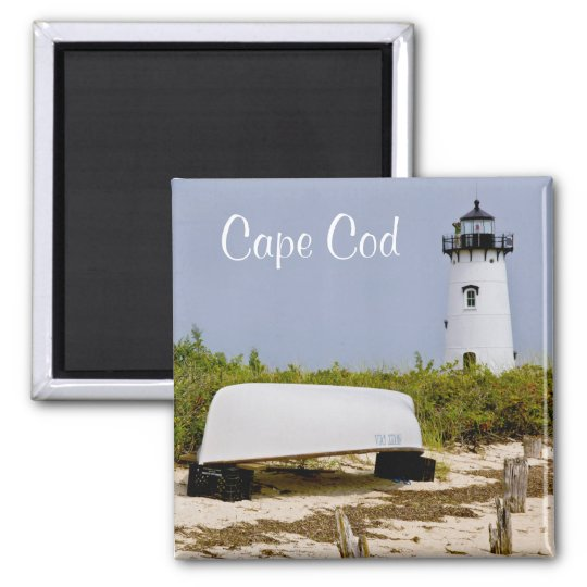 Edgartown Lighthouse Martha's Vineyard Mass Magnet