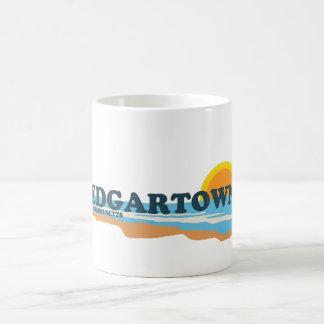 Edgartown MA - Beach Design. Basic White Mug