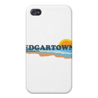 Edgartown MA - Beach Design Case For iPhone 4