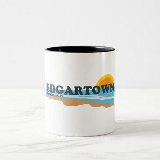 Edgartown MA - Beach Design. Mug