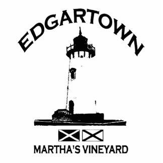 Edgartown MA - Lighthouse Design. Standing Photo Sculpture