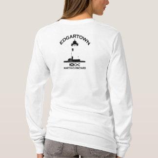 Edgartown MA - Lighthouse Design. T-Shirt