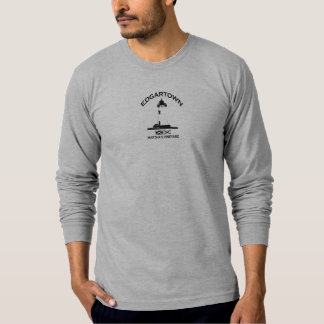 Edgartown MA - Lighthouse Design. T-shirts
