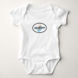 Edgartown MA - Oval Design. Baby Bodysuit