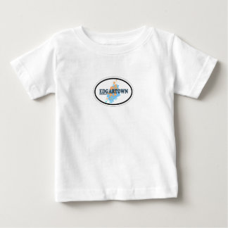 Edgartown MA - Oval Design. Baby T-Shirt