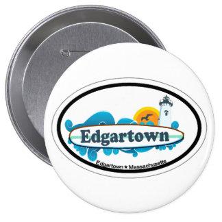 Edgartown MA - Oval Design Pins