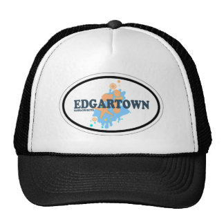 Edgartown MA - Oval Design. Cap