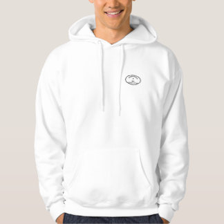 Edgartown MA - Oval Design. Hooded Pullovers