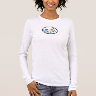 Edgartown MA - Oval Design. Long Sleeve T-Shirt