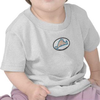 Edgartown MA - Oval Design Shirts