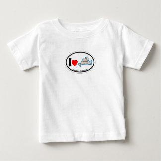Edgartown MA - Oval Design. Tshirt