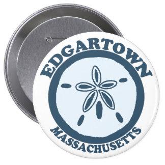 Edgartown MA - Sand Dollar Design Pin