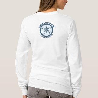 Edgartown MA - Sand Dollar Design. T-Shirt