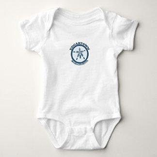 Edgartown MA - Sand Dollar Design. T-shirts