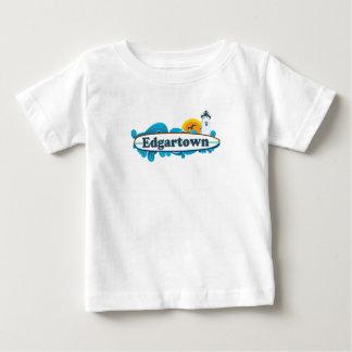 Edgartown MA - Surf Design. Baby T-Shirt