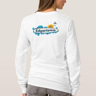 Edgartown MA - Surf Design. T-Shirt