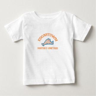 Edgartown MA - Varsity Design. Baby T-Shirt