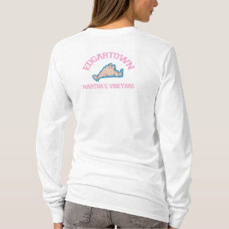 Edgartown MA - Varsity Design. T-Shirt