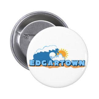 Edgartown MA - Waves Design Buttons