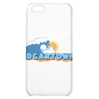 Edgartown MA - Waves Design Cover For iPhone 5C