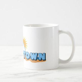 Edgartown MA - Waves Design. Coffee Mugs