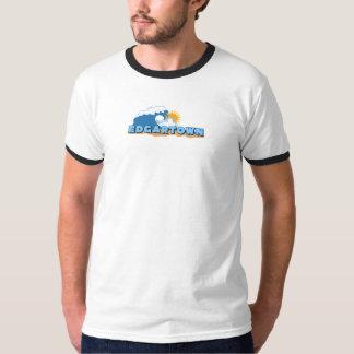 Edgartown MA - Waves Design. Tee Shirt
