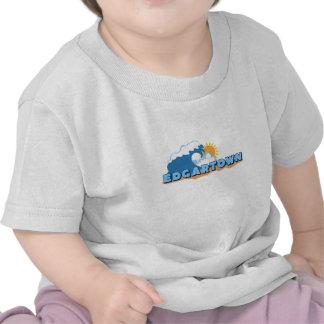 Edgartown MA - Waves Design. T Shirts