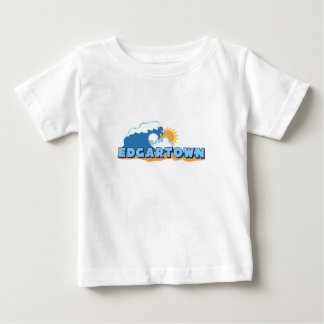 Edgartown MA - Waves Design. Tshirts