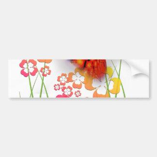 Edge of Butterfly Bumper Sticker
