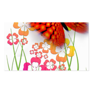 Edge of Butterfly Pack Of Standard Business Cards