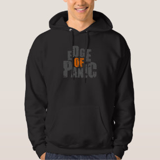 Edge of Panic square hoodie