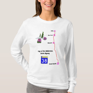 Edge of the Wilderness scenic byway T-Shirt
