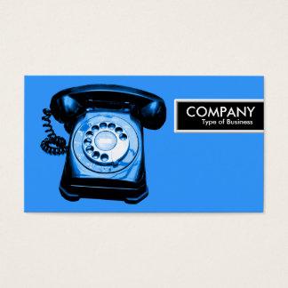 Edge Tag - Blue Hotline Business Card