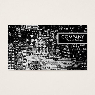 Edge Tag - Circuitry Business Card