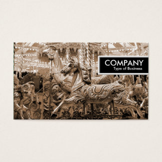 Edge Tag - Merry-go-Round Business Card