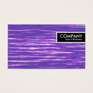 Edge Tag - Purple Interference Business Card