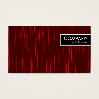 Edge Tag - Red Streaks Business Card