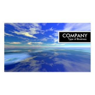 Edge Tag - Sea And Sky Pack Of Standard Business Cards