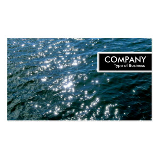 Edge Tag - Sparkling Water 01 Pack Of Standard Business Cards