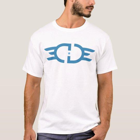 EDGE White&Blue Apparel T-Shirt