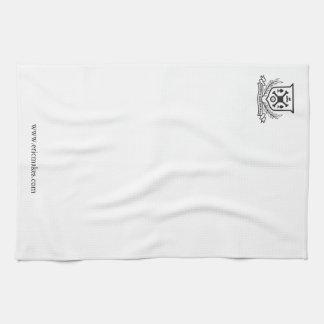 Edgewater Beach Apartments, kitchen towel (crest)