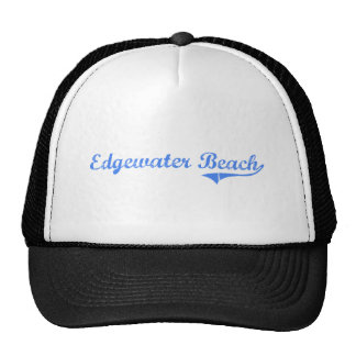 Edgewater Beach Florida Classic Design Mesh Hat