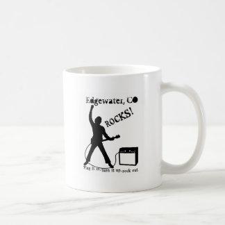 Edgewater, CO Basic White Mug