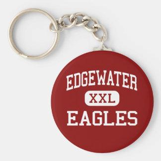 Edgewater - Eagles - High School - Orlando Florida Basic Round Button Key Ring
